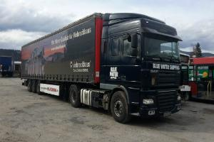 Daf XF 105 460 with semitrailer KRONE
